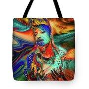 Boy George Digital Art Tote Bag