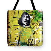 Boy In Yellow Tote Bag