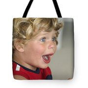 Boy Surprise Tote Bag
