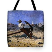Boy With Anchor Tote Bag