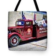Boyle Racing Headquarters  Tote Bag