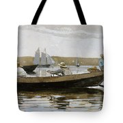 Boys In A Dory, By Winslow Homer, Tote Bag