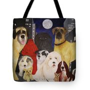 Boys Night Out Tote Bag