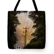 Boys On The Hill Tote Bag