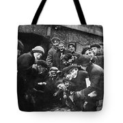 Boys Shooting Craps, C1910 Tote Bag