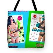 Bra Shop Online Tote Bag