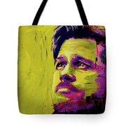 Brad Pitt Fury Tote Bag