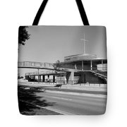 Bradford Beach House B-w Tote Bag