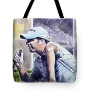 Bradley Dredge Tote Bag