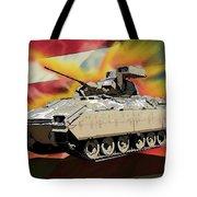 Bradley M2 Fighting Vehicle Tote Bag