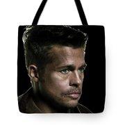 Brad Pitt As Lt Aldo Paine Publicity Photo The Inglourious Bastards 2009 Color Added 2016 Tote Bag