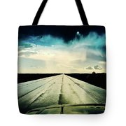 Braeking Through The Storm Waskatena Tote Bag