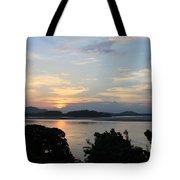 Brahmaputra Sunset Tote Bag