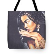 Braided Beauty Tote Bag by Charlene Cooper