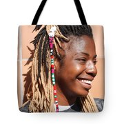 Braided Lady Tote Bag