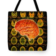 Brain Composite Tote Bag