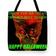 Brain Desert Halloween Card Tote Bag