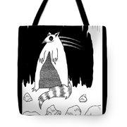 Brains Brewing Noon Raccoon Design By Warwickart Tote Bag