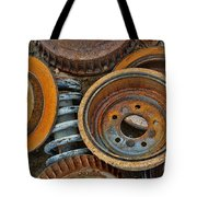 Brake Drums - Disc Brakes - Shock Assembly Tote Bag