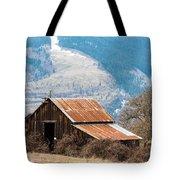 Bramble Bound Barn Tote Bag