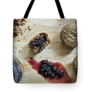 Bran Muffins With Mulberry Jam Tote Bag