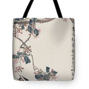 Branch Magpie Painting Tote Bag
