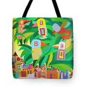 Branch Over The City Tote Bag