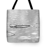 Branches In Silver Waters Tote Bag