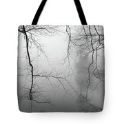Branches In The Morning Mist Tote Bag