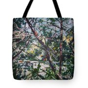 Branches Of Light Tote Bag