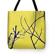 Branching Out Snowscape 3 Tote Bag