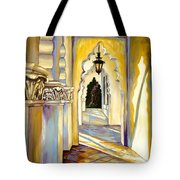 Brand Library Hall Tote Bag by Milagros Palmieri