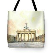 Brandenburger Tor, Berlin Tote Bag