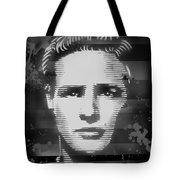 Brando Odyssey Black And White Tote Bag
