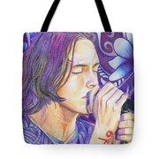 Brandon Boyd Tote Bag by Joshua Morton