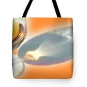 Brandy Glass Reflection Tote Bag