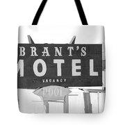 Brants Motel Signage Tote Bag