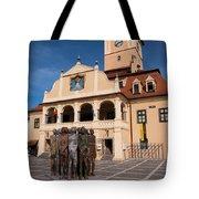 Brasov Town Hall Tote Bag