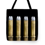 Brass And Lead Bullets. Tote Bag