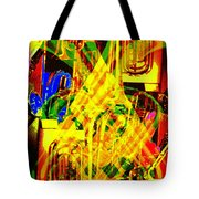 Brass Attack Tote Bag