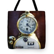 Brass Auto-meter Speedometer Tote Bag