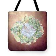 Brass Flower Tote Bag