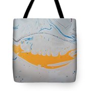 Brass Knockle Smile On A Fat Pig Tote Bag