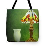 Brass Lampshade Tote Bag