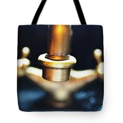 Brass Water Tote Bag