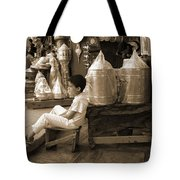 Brassed Off. Tote Bag