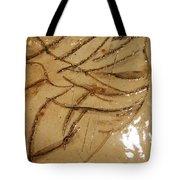 Brave  Tile Tote Bag