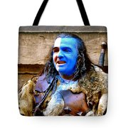 Braveheart Busker In Edinburgh Tote Bag