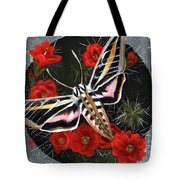 Braving The Thorns Tote Bag