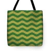 Brazilian Paving Pattern In Brazilian Colours. Tote Bag